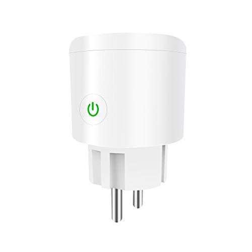 Guangcailun Aplicación de Control Remoto Interruptor de Control Principal de WiFi WiFi del zócalo de energía del zócalo de energía inalámbrica Temporizador Enchufe Enchufe de la UE 16a
