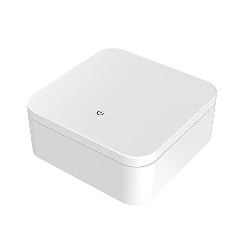 OYEFLY UV Sterilisator Desinfektion Box Handy Smartphone UV Licht Sanitizer Desinfektionsgerät mit Aromatherapie für Makeup,Telefon, Zahnbürste,Babyflasche und Daliy Zubehör (Weiß)