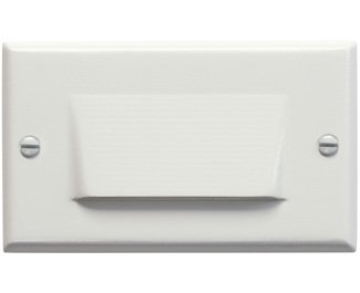 Kichler 12602WH Step and Hall 120V LED Step Light Shielded, White