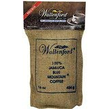 Wallenford Roasted Whole Bean 100% Jamaica Blue Mountain Coffee, 16oz bag