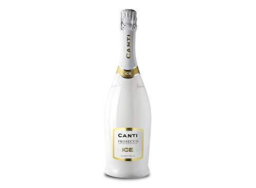 Canti Prosecco D.O.C. ICE - trocken - Schaumwein Italien Wein (1x0.75l) Prosecco (1 x 0.75 l)