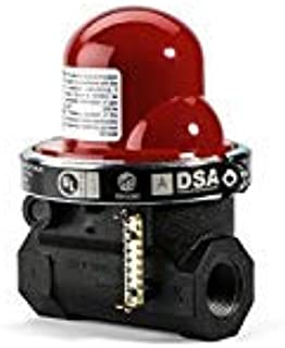 Pacific Seismic Products 314 Series Horizontal Earthquake Gas Shut-Off Valve 60psi, 2-Inch