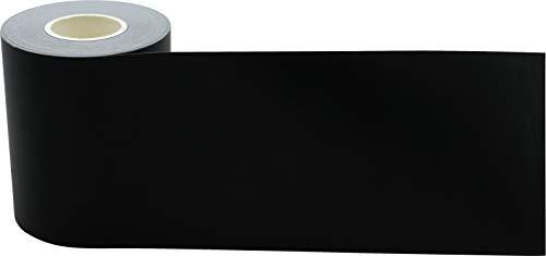 Black Straight Rolled Border Trim Photo #3