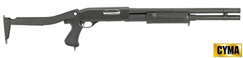 CYMA Softair 0.9 Joule Fucile A Pompa 352 Long Full Metal Nero (CM352LM)