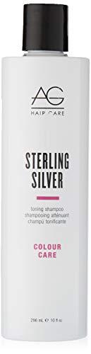 AG Hair Colour Care Sterling Silver Toning Shampoo, 10 Fl Oz