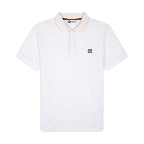 Roland Garros Islande Polo Shirt Mens, Crudo, XL