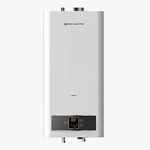EAS ELECTRIC SMART TECHNOLOGY | EMG11NG | Calentador de Gas Natural estanco | Calentador de agua a gas natural | Filtro de agua extraíble | Kit de salida de gases incluido | Pantalla digital