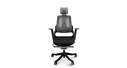 UPLIFT Desk - Pursuit Ergonomic Chair (Black)