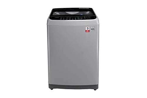 LG 7 Kg Inverter Fully-Automatic Top Loading Washing Machine (T8077NEDLJ, Middle Free Silver)