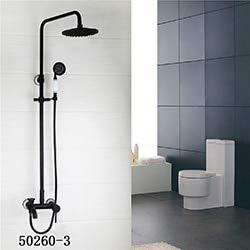 Bathroom Shower Faucet Classic ORB Plating Bathroom Shower Faucet Set Wall Mounted Rainfall Bathtub Faucet Mixer Faucet Tap,502603