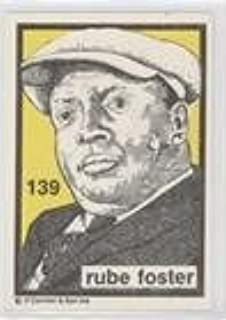 Amazoncom Rube Foster Baseball Card 1984 91 Oconnell