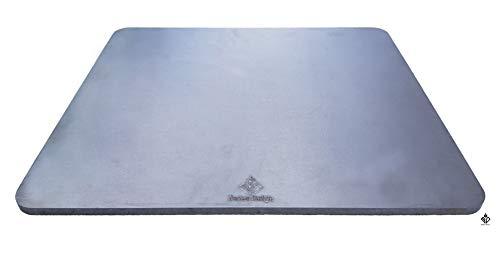 Becker Design 8mm Pizza- Brot- Backstahl rechteckig 38cm x 33cm