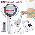 Fat Burner Remover Machine EMS 6 in 1 Sliming Massager for Stomach Arm Leg Weight Loss Machine LED...