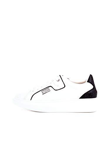 Guess Salerno Scarpe Vera Pelle Sneakers Uomo Shoes Run Tempo Libero FM6SALFAL12