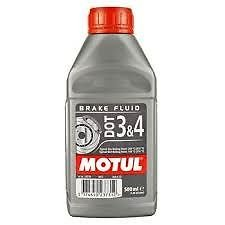 Líquido Aceite frenos Motul Dot 3& 4Brake Fluid 500ml
