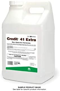 Credit 41 Extra 5 Gallons (2x2.5) 41% Glyphosate Non-Selective Herbicide