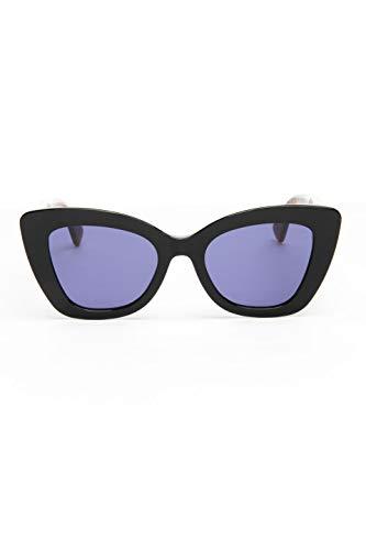 Fendi F is FF 0327/S Black Havana/Blue 52/21/150 Women Sunglasses