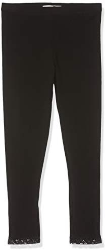 Name IT NOS Mädchen NKFVISTA Capri NOOS Leggings, Schwarz (Black), (Herstellergröße: 158)
