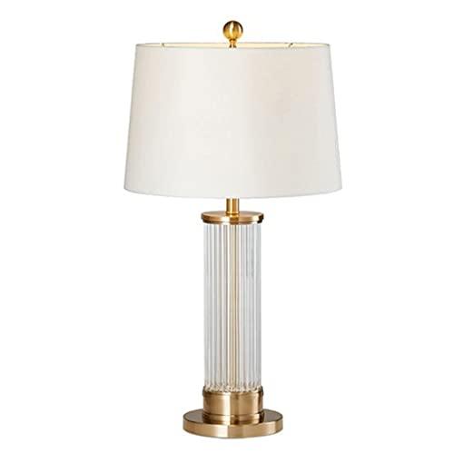 Lámpara de Mesa Moderna cristal de la cama de la cama de la cama de la cama de la cama de la cama de la cama de la cama de la cama decorativa de la lámpara de la cama del dormitorio de la cama de la c