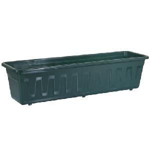 Fioriera Plant Box Nelle Misure 40, 60, 80, 100Cm, Verde, Marrone, Terracotta, Bianco, Antracite, Green, 80 Cm