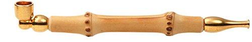 煙管 キセル 小粋 竹 ゴールド 約12�p (ゴールド)