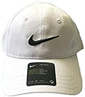 Toddler Solid Swoosh Cotton Baseball Cap Sz: 2/4T