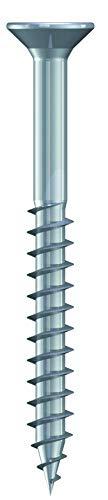 200 Stück Spanplattenschrauben 4,0 x 40 mm Edelstahl A2 - Teilgewinde - V2A rostfrei - Torx TX20 - Senkkopf | Schrauben - Holzschrauben - Holzbauschrauben | Edelstahlschrauben | Universalschrauben