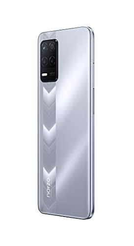 realme narzo 30 (Racing Sliver, 4GB RAM, 64GB Storage) - MediaTek Helio G95 processor I Full HD+ display with No Cost EMI/Additional Exchange Offers
