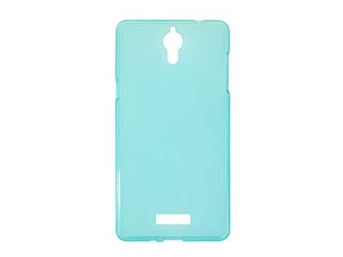 etuo Handyhülle für Coolpad Modena 2 - Hülle FLEXmat Hülle - Blau - Handyhülle Schutzhülle Etui Hülle Cover Tasche für Handy