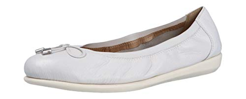 CAPRICE 9-9-22165-26, Zapatos Tipo Ballet Mujer, White Deer, 41 EU