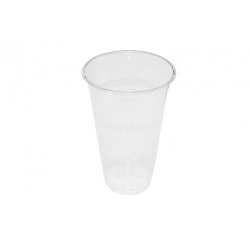 Clear cup-pET-gobelets-transparent - 25 gobelets 20oz/500ml