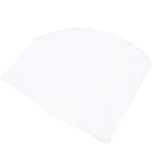 EXCEART 400Pcs Papel Vegetal Translúcido Branco Vellum Papel Elaboração Desenhando Arte Impressão de Papel Vegetal para Esboçar Rastreamento de Animação de Desenho Em Quadrinhos 16K