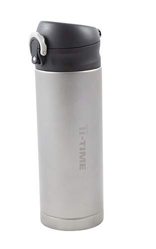 Ti-Time AceCamp Titan Flasche | Titanium| Vacuum Flasche |Qualitätsflasche aus Titan-Metall | 1364