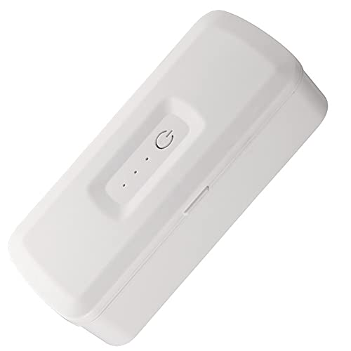ADSVMEL Caja de lámpara de luz UV de Mano Caja de teléfono UV para Teclas de teléfono remotas Herramientas de Ropa Caja de Limpieza Multiusos para Uso portátil en la Oficina en el hogar
