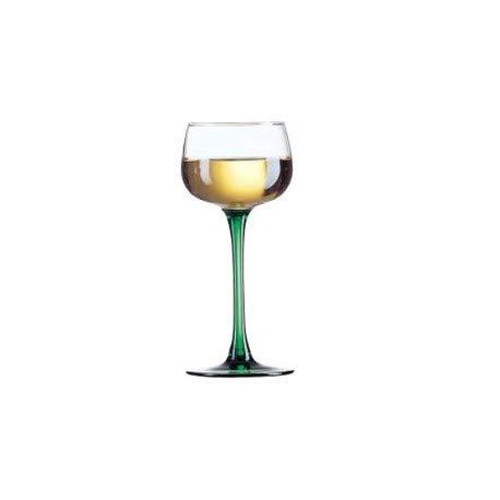Coffret 6 Verres à vin Rhin Vert