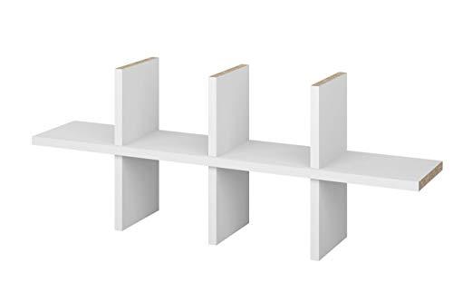 Superelch CD-Einsatz IKEA Billy Regal CD-Fach Regalkreuz Fachteiler f. bis zu 120 CDs CD-Regal CD-Storage Aufbewahrung Regaleinsatz weiß