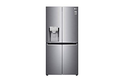 LG GML 844P ZKZ Multi Door Side-by-Side mit Wasser- und Eisspender - Slim Fit Design - No Frost - Multi Airflow System - 431 Liter, Edelstahl - A++