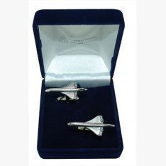 Concorde Boutons de manchette en forme de cadeau de mariage/Best Man/Usher