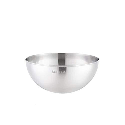 ZYR TSAKJ 4PCS Food Grade 304 Stainless Steel Multifunctional Bowl Vegetable Salad Bowl Mixing Basin Kitchen Baking Tableware Supplies (Color : 28cm)