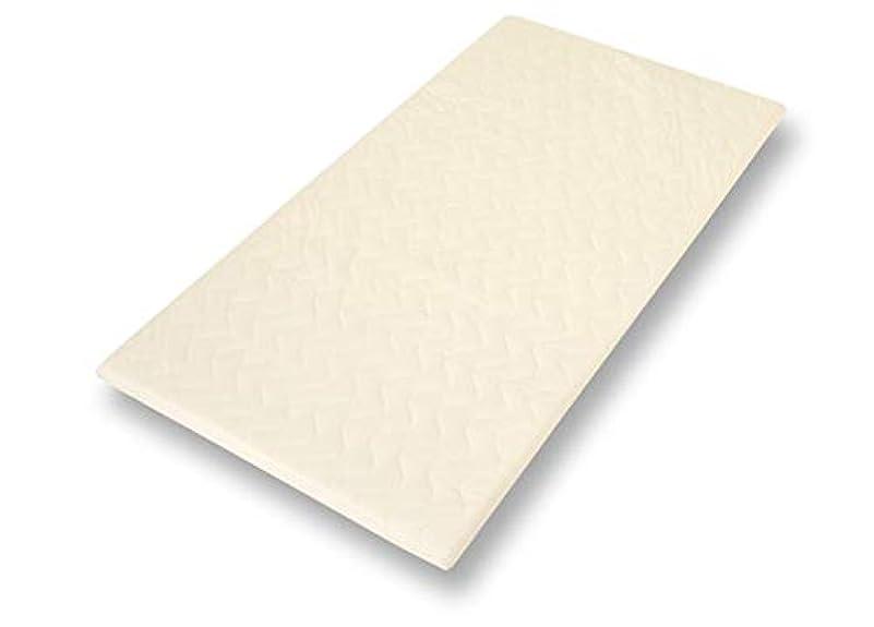 わかる地図メロンシンカシング ベッドパッド 低反発 【むれにくい低反発パッド】 シングル 体圧分散 通気性 抜群 吸湿 ムレ対策 洗える 高密度48D 30N 97×195×4㎝