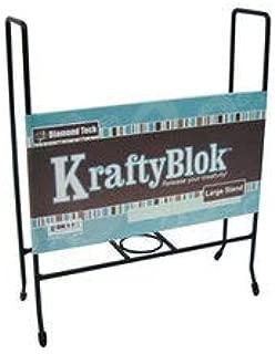 KraftyBlok 7.5-Inch by 7.5-Inch Sturdy Steel Display Stand (679746)