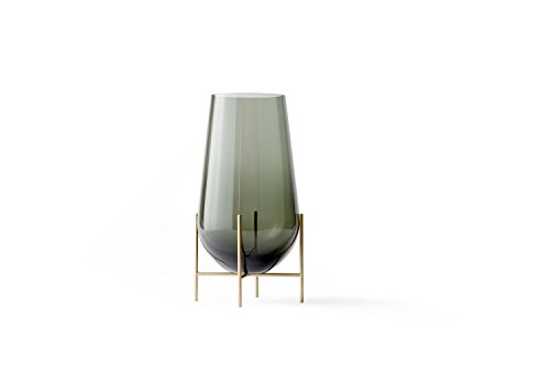 Menu - Echasse Vase - rauchglas - M - Theresa Arns