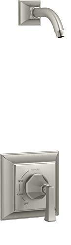 Kohler TLS462-4V-BN Memoirs - Juego de ducha (níquel cepillado)