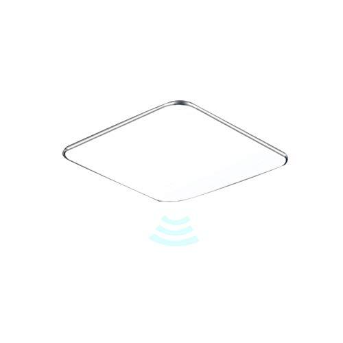 12W LED Sensor Deckenleuchte Deckenlampe LED Radar Sensorleuchte mit Bewegungsmelder (12W Sensor Kaltweiß)