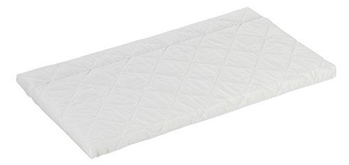 Alvi Beistellbettmatratze 50 cm x 90 cm/Baby-Matratze für Beistellbett & Wiege/Bezug 100% Baumwolle/ÖKO-TEX 100 zertifiziert/atmungsaktiv, Größe:50(40) x 90 klappbar