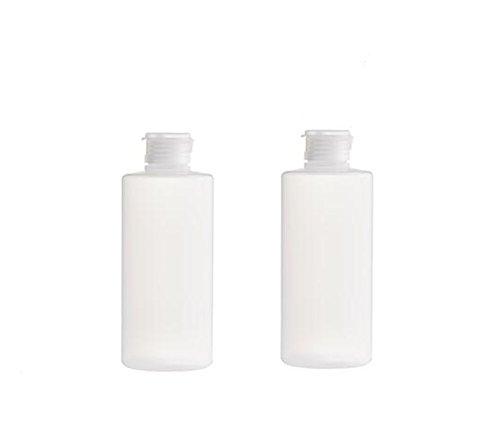 200 ml/ 400 ml - lot de 2 - flacon en plastique pour voyage, flacon pour après-shampoing, nettoyant pour le visage, gel douche, produits de toilette
