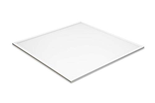 Panel LED MAULrise IP20, 40 W, 3750 lúmenes, 4000 K – blanco neutro, 59,5 x 59,5 cm, eficiencia de la lámpara: 96 lm/W, clase de eficiencia energética'A+' (controlador DALI (regulable)