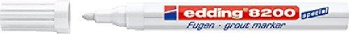 Edding Spezialmarker 8200 Fugenmarker Reparieren&Pflegen zu Hause 2-4mm weiß
