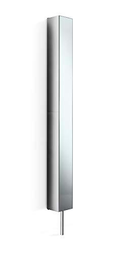 Lineabeta 51505.29 Colonna Girevole Serie Pika, Inox/Lucido