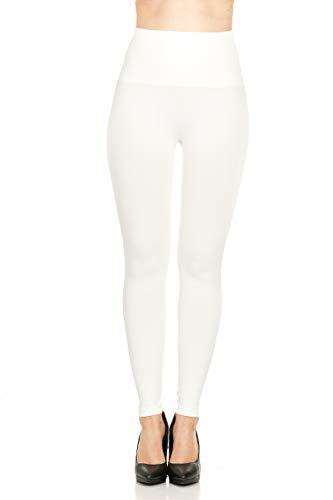 Spanx Leggings, um den Körper zu formen für Damen 1X Weiß